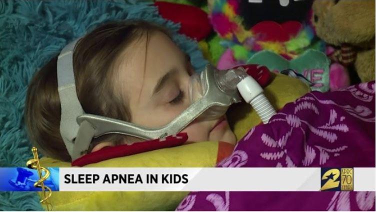 Ngưng thở khi ngủ ở trẻ